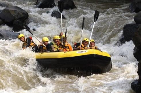 Pengusaha Rafting Harap Untuk Berbenah